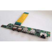USB + LAN + Audio board DA0FL5PI6D1 z Lenovo IdeaPad S10-3