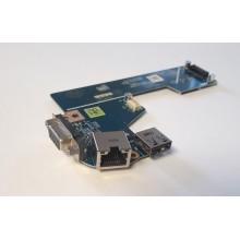 USB + VGA + LAN board LS-7908P / 0826R6 z Dell Latitude E5530