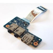 USB + Audio board 48.4YV16.011 / 50.4YV03.011 z HP ProBook 430 G1