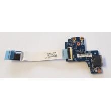 LAN board + funkční tlačítka 48.4YV14.011 z HP ProBook 430 G1