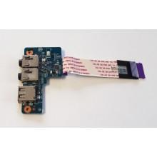 USB + Audio board 48.4YV17.011 z HP ProBook 430 G1