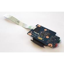 Audio board + Čtečka karet LS-5753P z Lenovo IdeaPad G565