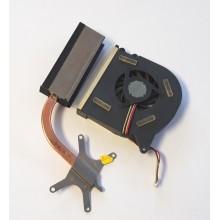 Chlazení 13GNKA1AM040 + ventilátor UDQFLZH05DAS z Asus X51R