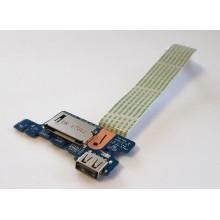 USB board + Čtečka karet LS-D702P / 43505R32L01 z HP 255 G5