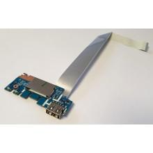 USB board + Čtečka karet LS-G071P / 435OM832L01 z HP 255 G7 / nové
