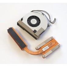 Chlazení 379799-001 + ventilátor 6033A0006501 z HP Compaq nx7300