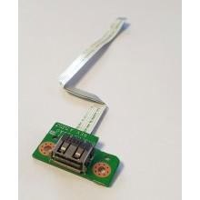 USB board 3DFH5UB0000 / DA0FH5TB6A0 z Fujitsu Lifebook AH531