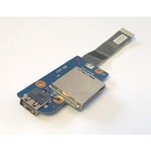 USB board + Čtečka karet NS-A162 / NBX00018A00 z Lenovo ThinkPad E540