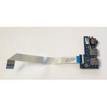 USB + Audio board 5C10K69433 / 431202019010 Lenovo IdeaPad 100S-14IBR