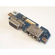 VGA + eSATA board 0R670D / LS-415BP z Dell Latitude E4300