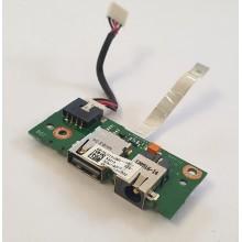 USB + DC board / Napájení 60-NLOIO1001 z Asus X401A