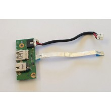 USB + DC board / Napájení 60-N3OIO1001 / 32XJ1IB0010 z Asus X501A