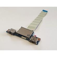 USB + Audio board + Čtečka karet NS-A275 z Lenovo IdeaPad G50-30