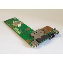 DC + USB + LAN board + Čtečka karet 60-NXMDC1000-E01 z Asus X52F
