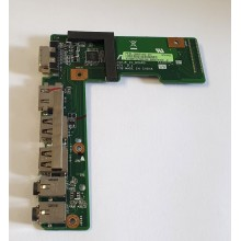 USB + VGA + HDMI + Audio board 60-NXNIO1000-C01 z Asus X52F