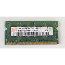 Paměť RAM do NB Hynix HYMP112S64CP6-Y5 AB-C 1GB 667Mhz DDR2