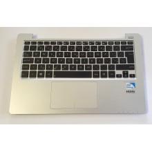 Palmrest 13NB00L1AM0102 + touchpad + vadná klávesnice z Asus X201E
