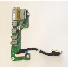 USB + Audio board + Čtečka karet DA07G5PB6F0 z Acer Aspire One A150-Bb