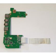 USB + Audio board + Čtečka karet 60-0A1VI02000-C01 z Asus Eee 1201NL