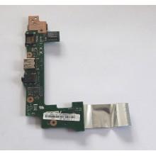 USB + LAN + Audio board 60-OA3PDT1000-B01 z Asus Eee PC X101CH