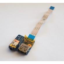 USB + Audio board LS-8133P / 455NXQ39L11 z Lenovo ThinkPad Edge E535