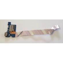 USB board + Čtečka karet LS-C705P / 455MW032L01 z HP 250 G4