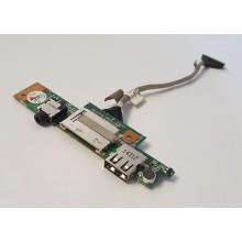 USB + Audio board + Čtečka karet BH5290C z Lenovo IdeaPad S20-30