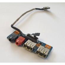USB + Audio board 1P-1096500-8010 z Sony Vaio VGN-NW21MF