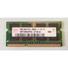 Paměť RAM do NB Hynix HMT125S6AFP8C-G7 2GB 1066Mhz DDR3