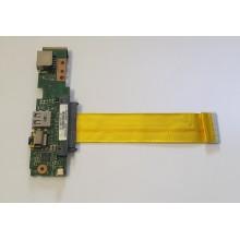 USB + LAN + Audio board 60-0A2YIO1000-B01 z Asus Eee 1001PX
