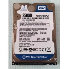 HDD do NB WD Scorpio Blue WD2500BPVT 250GB 2,5 SATAII 8MB