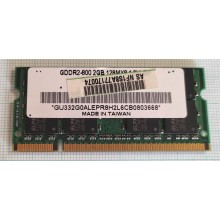 Paměť RAM do NB Elpida GDDR2-800 2GB 128MX8 2GB 800Mhz DDR2