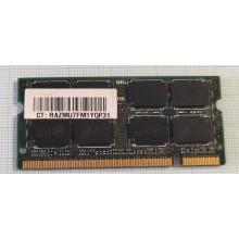 Paměť RAM do NB Micron MT16HTF25664HY-800J1 2GB 800Mhz DDR2