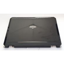 Kryt displaye + podsvícení + webkamera z MSI GT660-475CS vada