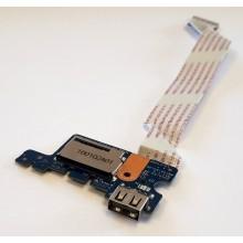 USB board + Čtečka karet LS-C705P / 455MW032L01 z HP 15-af107nc
