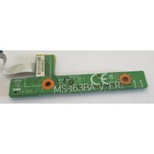 Power board / Zapínání MS-163BA VER:1.1 z MSI VR610X-098CZ