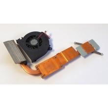 Chlazení 6043B0034701 + ventilátor UDQFRPH53C1N z HP Compaq 6820s