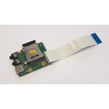 USB + Audio + Čtečka karet DA0LZ3TH6F0 z Lenovo IdeaPad Z580