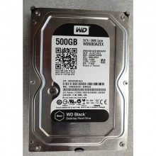HDD do PC WDC WD5003AZEX 00MK2A0 500GB WD Black SATA/600, 64MB
