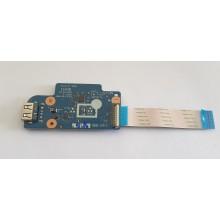 USB + Čtečka karet NS-A047 / NBX00018A00 z Lenovo ThinkPad Edge E531