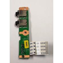 Audio board DA00P6AB6D0 / 320P6AB0000 z HP Presario CQ61-425EC