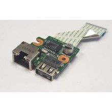 USB + LAN board DA0R65TB6D0 z HP Pavilion 15-e057sc