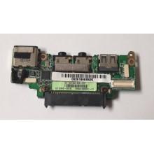 USB + Audio + LAN board 60-OA19IO1000 z Asus Eee PC 1008HA