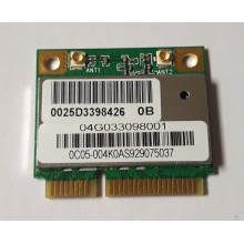 Wifi modul AzureWave AP5B95 / AW-NE785H z Asus Eee PC 1008HA