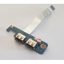 USB board LS-5821P / NBX0000LO00 z Toshiba Satellite L455-S5980