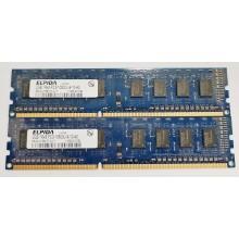 Paměť RAM do PC 4GB 2x Elpida 2GB 1333MHz EBJ20UF8BCF0-DJ-F