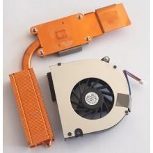 Chlazení 6043B0024701 + ventilátor UDQFRPH55C1N z HP Compaq 6710b