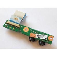 Audio board DA00P6AB6D0 z HP Compaq Presario CQ61-430EC