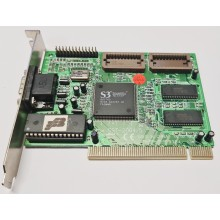 Grafická karta PCI S3 Trio64V+ SST - 2064/5 1MB PCI kus HISTORIE !