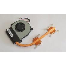Chlazení 13NA-3LA0101 a ventilátor 13NA-3MA0Y01 z Asus Eee PC 1225B